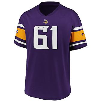 Iconic Poly Mesh Supporters Jersey - Minnesota Vikings