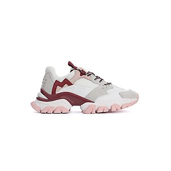 Moncler 4m7084002s7g005 Women's Multicolor Leather Sneakers