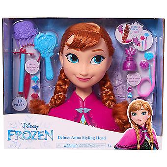 Disney Frozen Deluxe Anna Styling Head 19PCs