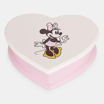 Minnie Træ Hjerte smykker Box