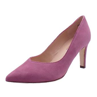 Peter Kaiser Elfi Classic Court Shoes In Cassis Suede