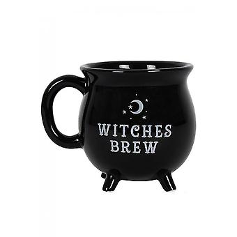 Gothic Homeware Witches Brew Cauldron Mug