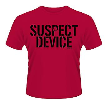 Stiff Little Fingers Red Suspect Device Official T-Shirt Unisex