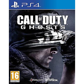 Call of Duty Ghosts gry PS4