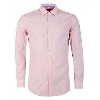Hugo Koey Contrast Trim Feather Stripe Shirt
