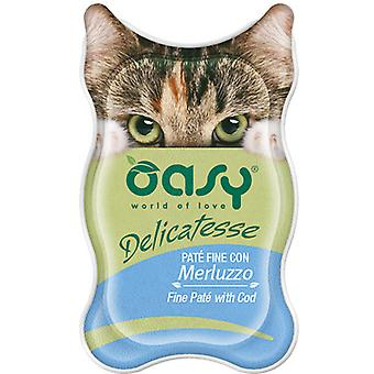 Oasy Fine Pate with Cod (Cats , Cat Food , Wet Food)