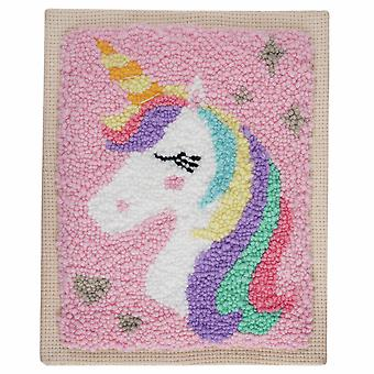 Unicorn Punch Needle Craft Kit for Older Kids - Boxed Gift Set