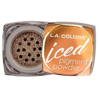 L.A. Colors Pigment Powder Iced Glowing