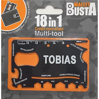 Multitool Multitool TOBIAS credit card debit card