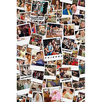 Friends Vänner Polaroids Maxi Poster