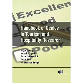 Handbook of Scales in Tourism and Hospitality Research by Dogan Gurso