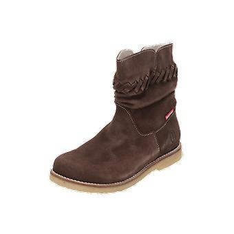 Shoesme CREPE Kids Girls Boots Brown Lace-Up Boots Winter