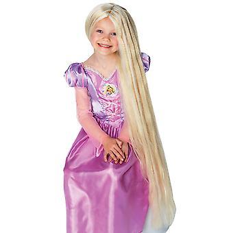 Girls Rapunzel Wig deluxe - Disnes