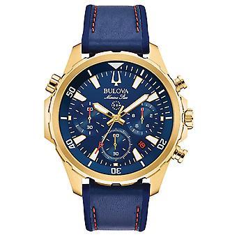 Bulova 97B168 Marine Star Chronograph Men's Watch 43 mm