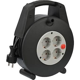 Brennenstuhl 1094200 Cable reel 15.00 m Black PG plug