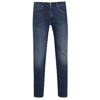 Edwin ED-55 Regular Tapered Red Listed Dark Blue Denim Jeans