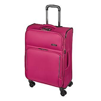 d&n Línea de viaje 7904 Carro de Mujer M, 4 Ruedas, 66 cm, 70 L, Rosa