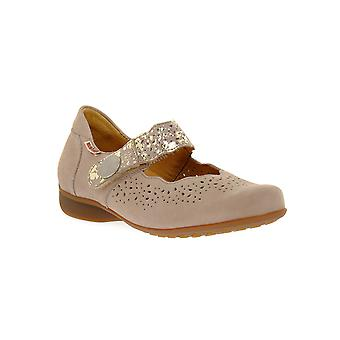 Mephisto fabienne light taupe sandals