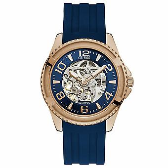 Guess W1178G3 Analog Blue Dial Men's Watch