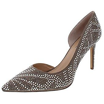 INC Womens Kenjay 8 Studded Pointed Toe D'Orsay Heels Taupe 5.5 Medium (B,M)