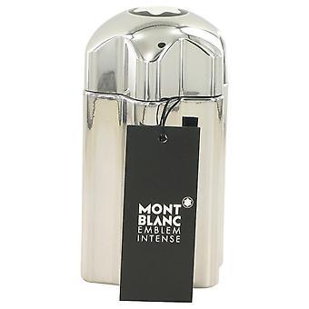 Montblanc Emblem Intense Eau De Toilette Spray (Tester) By Mont Blanc 3.4 oz Eau De Toilette Spray
