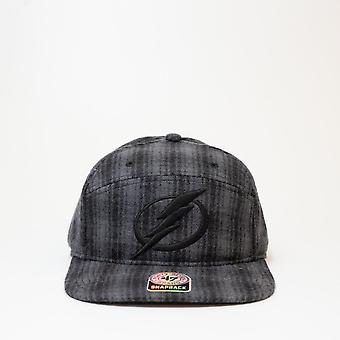 47 Brand Nhl Tampa Bay Lightning Grey Twill Checkered Cap