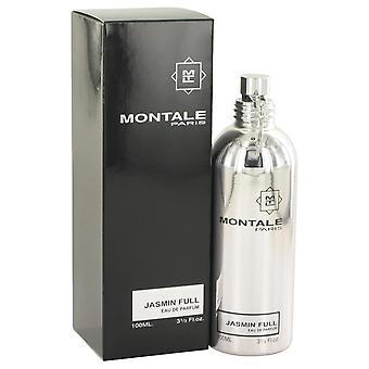 Montale Jasmin voll Eau De Parfum Spray von Montale 3,3 oz Eau De Parfum Spray