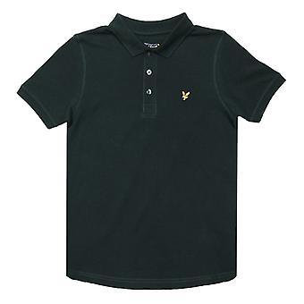 Boy's Lyle Og Scott Junior Klassisk Polo Skjorte i Grønn