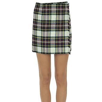 Paio Crippa Ezgl551001 Women's Multicolor Wool Skirt