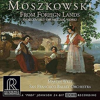 Moszkowski / San Francisco Ballet Orchestra - From Foreign Lands [CD] USA import