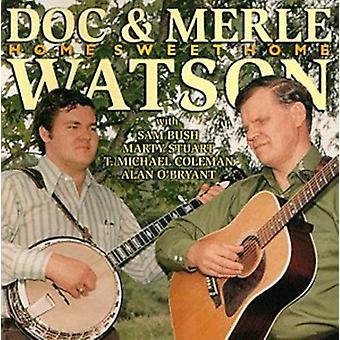 Doc Watson & Merle - Home Sweet Home [CD] USA import