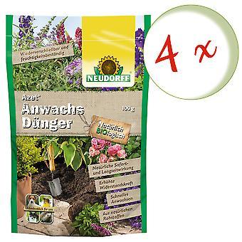 Sparset: 4 x NEWDORFF Azet® wax fertilizer, 100 g