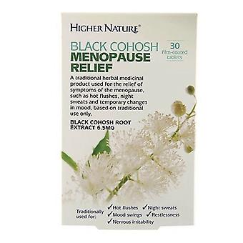 Higher Nature Black Cohosh Menopause Relief Tabs 30 (HEBM030T)