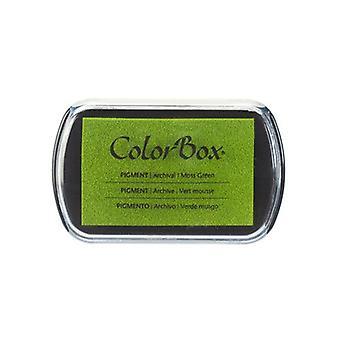 Clearsnap ColorBox Pigment Muste Täysikokoinen Sammal vihreä