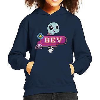 Littlest Pet Shop Bev Smile Kid's Hooded Sweatshirt