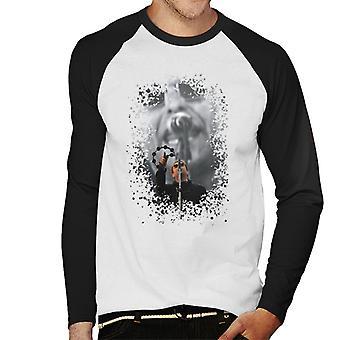 Liam Gallagher TRNSMT festivalen tamburin Menns Baseball lange ermer t-skjorte