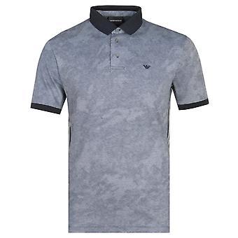 Emporio Armani Striped Polo Shirt