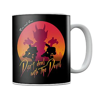 Cuphead Deal With the Devil Mug