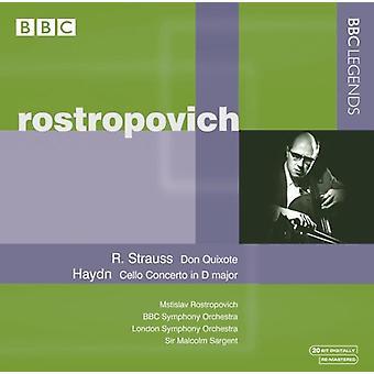 R. Strauss - R. Strauss: Don Quixote; Haydn: Cello Concerto No. 2 [CD] USA import