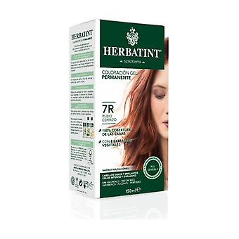 Coloration Permanent Gel Blonde Copper 7R 150 ml (Rubio)