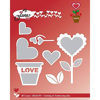 By Lene Love Flower Cutting & Embossing Die