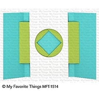 My Favorite Things Shutter Card Components Die-Namics