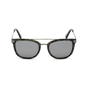 Ermenegildo Zegna - Accessories - Sunglasses - EZ0078_55C - Men - saddlebrown,green