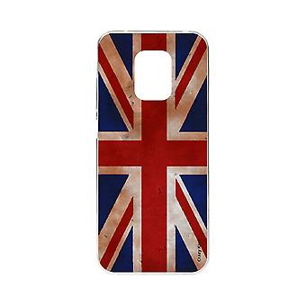 Scafo per Xiaomi Redmi Note 9 Pro Souple Flag Uk Vintage