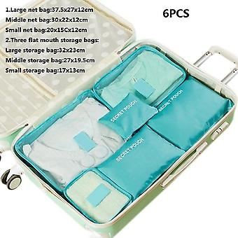 Travel Home Clothes Quilt Blanket Storage Bag Set/partition Tidy Organizer - Wardrobe Suitcase Pouch Packing Cube Bags