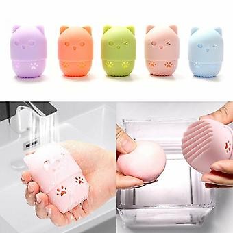 Kitten Beauty Powder Blender Puff - Portabil Soft Egg Machiaj Burete