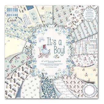 """Primera Edición 12""""x12"""" Pad - It's a Boy"""