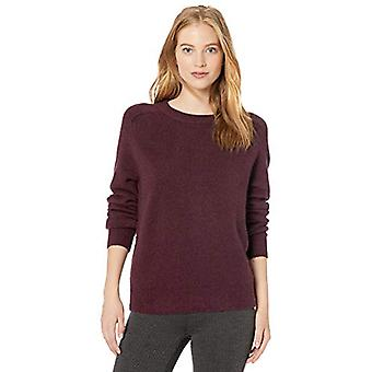 Marca - Daily Ritual Women's Cozy Boucle Crewneck Pullover Sweater, Wi...