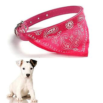Cute Adjustable Small Dog Collar Neckerchief, Puppy Pet Slobber Towel