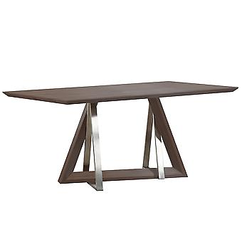 Brianna Dining Table - Walnut